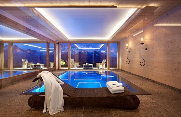 delightful designs ideas indoor pool. Amazing Indoor Swimming Pool Ideas For A Delightful Dip! Love The Lights In Ceiling Designs