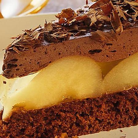 Torte Birne Helene