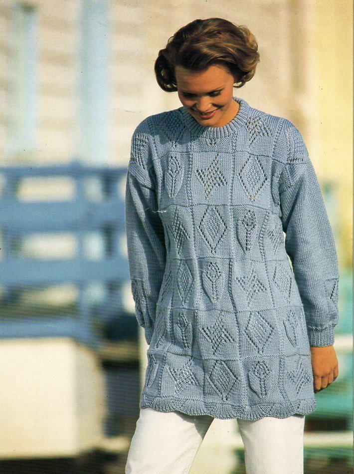 Womens Sweater Knitting Patterns Womens Sweater Knitting Pattern Pdf