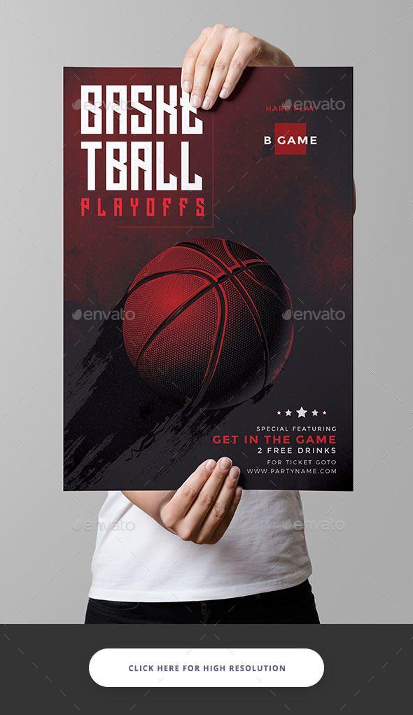 Basketball Flyer  Flyer Template Template And Buy Basketball