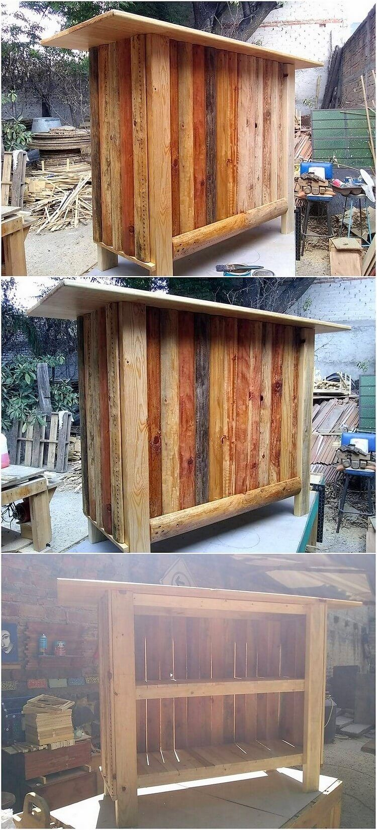 Accomplished Wood Pallets Recycling Ideas   Wood pallets ...