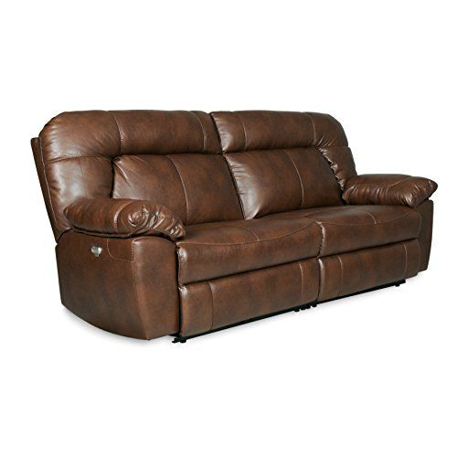 Terrific Decatur Series Dual Reclining Sofa In Dark Caramel Faux Beatyapartments Chair Design Images Beatyapartmentscom