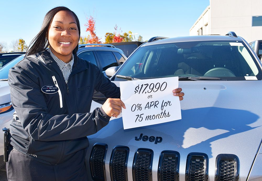 Sales Consultant Eboni Davis Chose Her Deal Of The Month Visit Http Www Miltonrubenchryslerjeep Com To Pick Yours Jeep Chrysler Jeep Hd Quotes