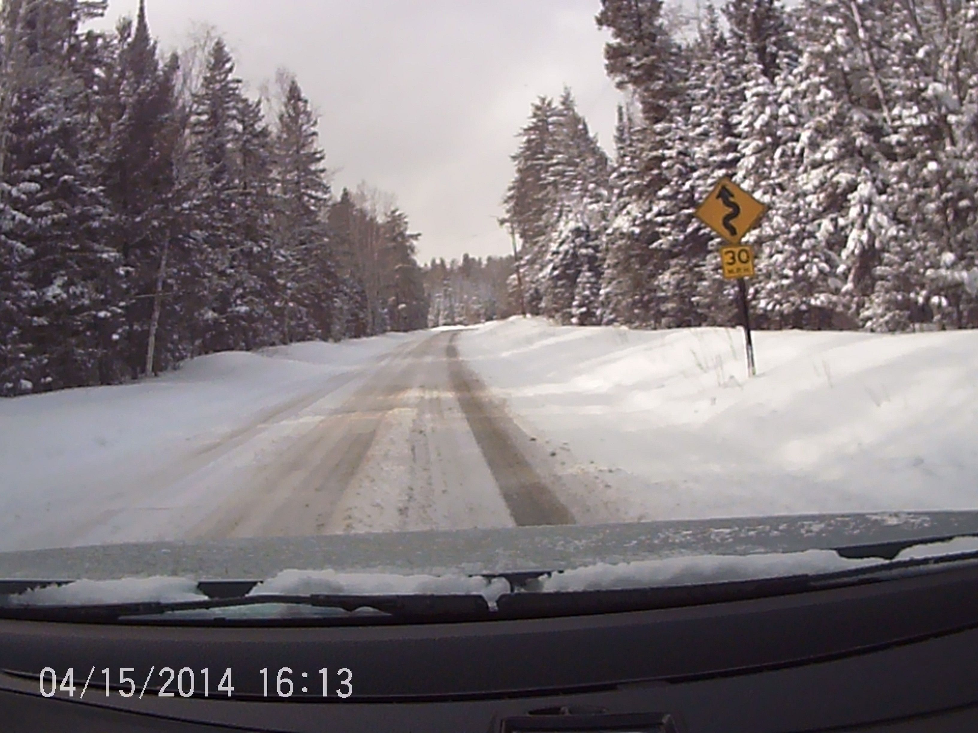 Jason's #HakkapeliittaR2 tackled this winding road with ease all winter long!