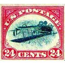 Inverted Jenny Airmail Stamp