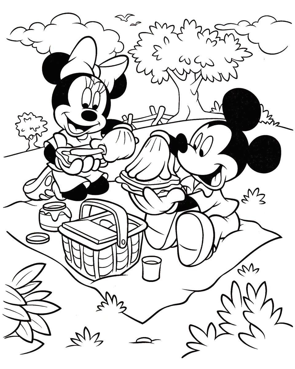 coloriage mickey et ses amis coloriages gratuits imprimer ...