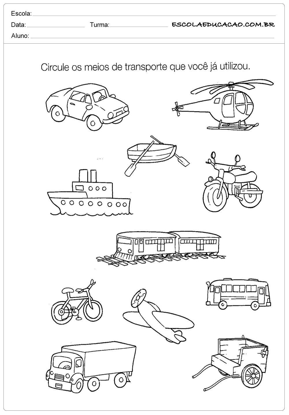Atividades De Historia Para Educacao Infantil Meios De