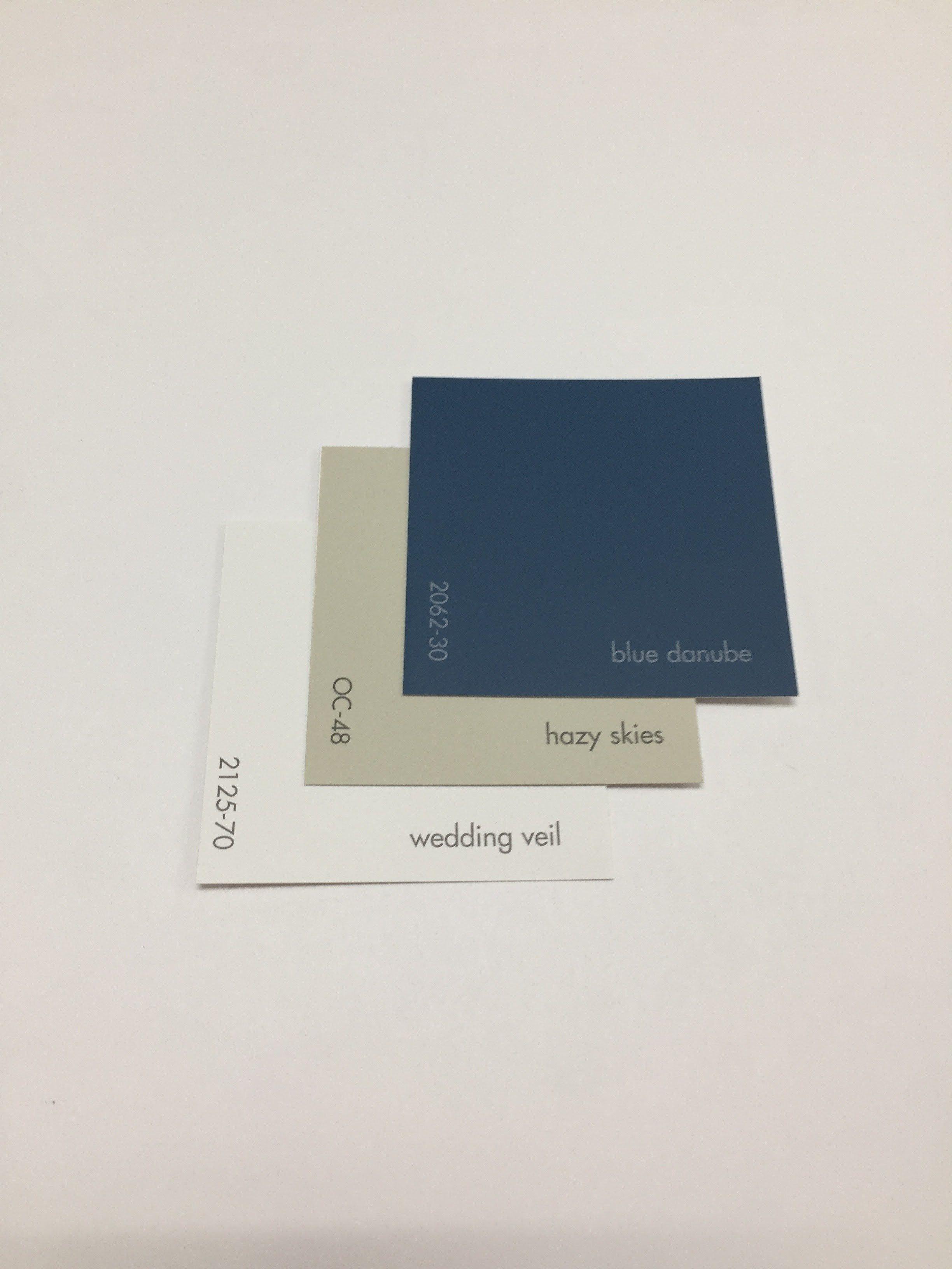 Benjamin moore blue danube 2062 30 hazy skies oc 48 wedding veil 2125 70