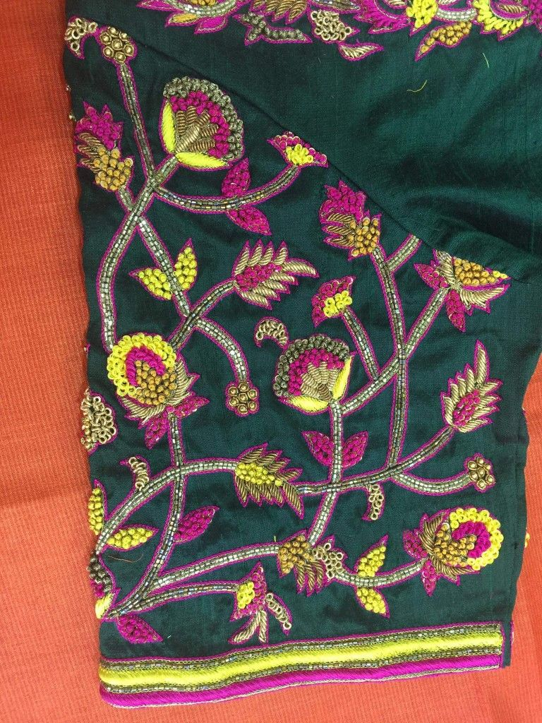 Saree blouse design sleeve pin by latha uma on anish  pinterest  blouse designs design model