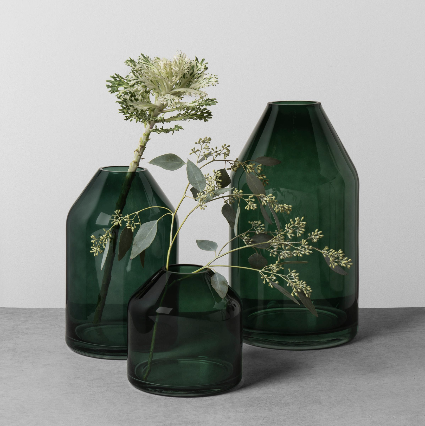 Green glass jug vases from chip and jos hearth and hand green glass jug vases from chip and jos hearth and hand collection at target reviewsmspy