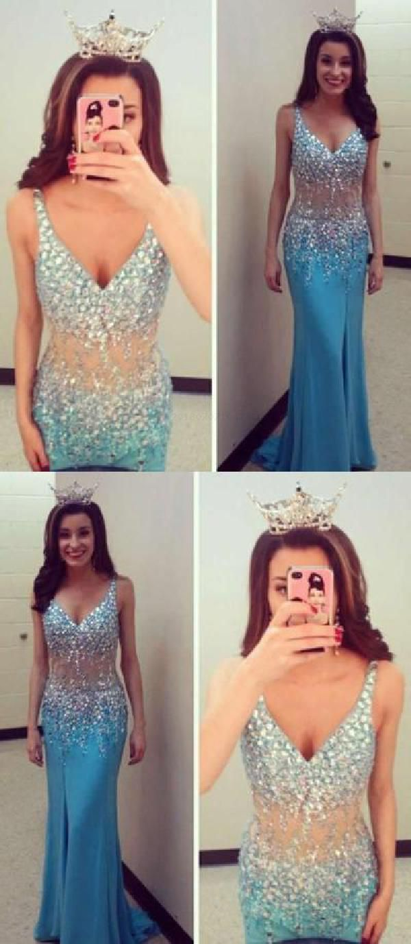 Outlet outstanding sexy prom dresses v neck prom dresses prom