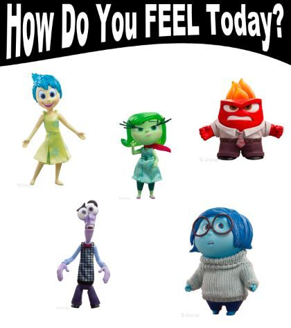 Inside Out Lesson Plans  Feeling Chart  Feelings Chart Chart