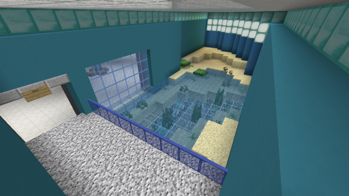 Prismarina Aquarium Minecraft Pe Maps Minecraft Shops