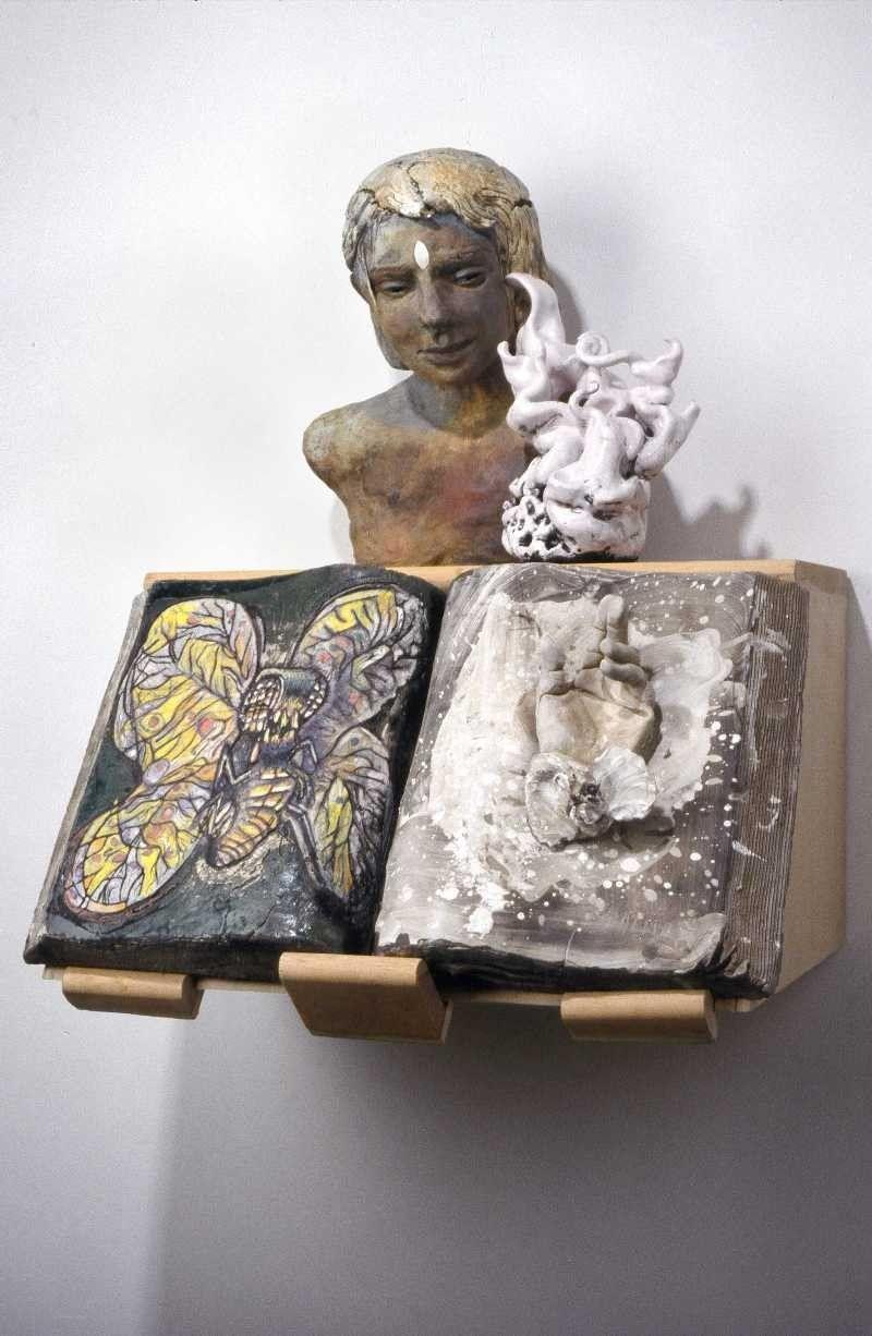 Arthur Gonzalez A Heap of Snow | Sculpture, Ceramic