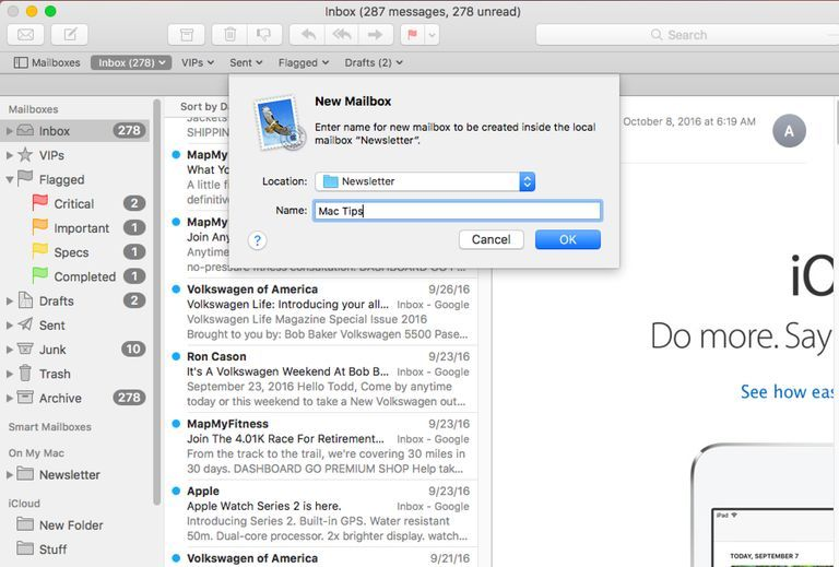 How To Organize Your Mac S Mail With Mailboxes Financial Apps Computer Help Mac