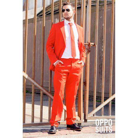 Photo of OppoSuits – OppoSuits Men's Red Devil Solid Suit – Walmart.com