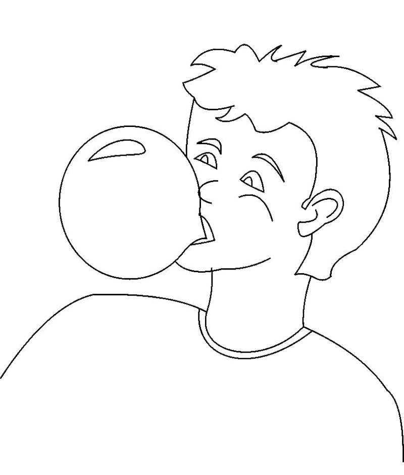 Coloring book gum where are my crayons the art of for Gum coloring pages