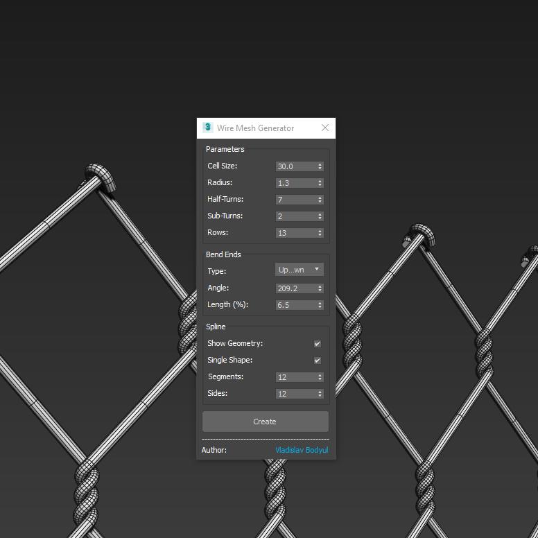 Wire Mesh Generator UI