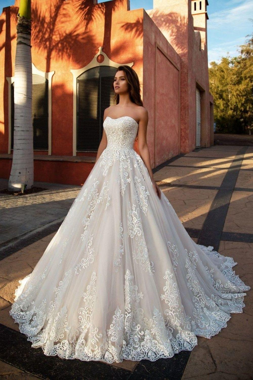 Robe De Mariage Long Mermaid Wedding Dress 2018 Cap Sleeve Sccop Lustrous Satin Bridal Dresses vestido de noiva Bride