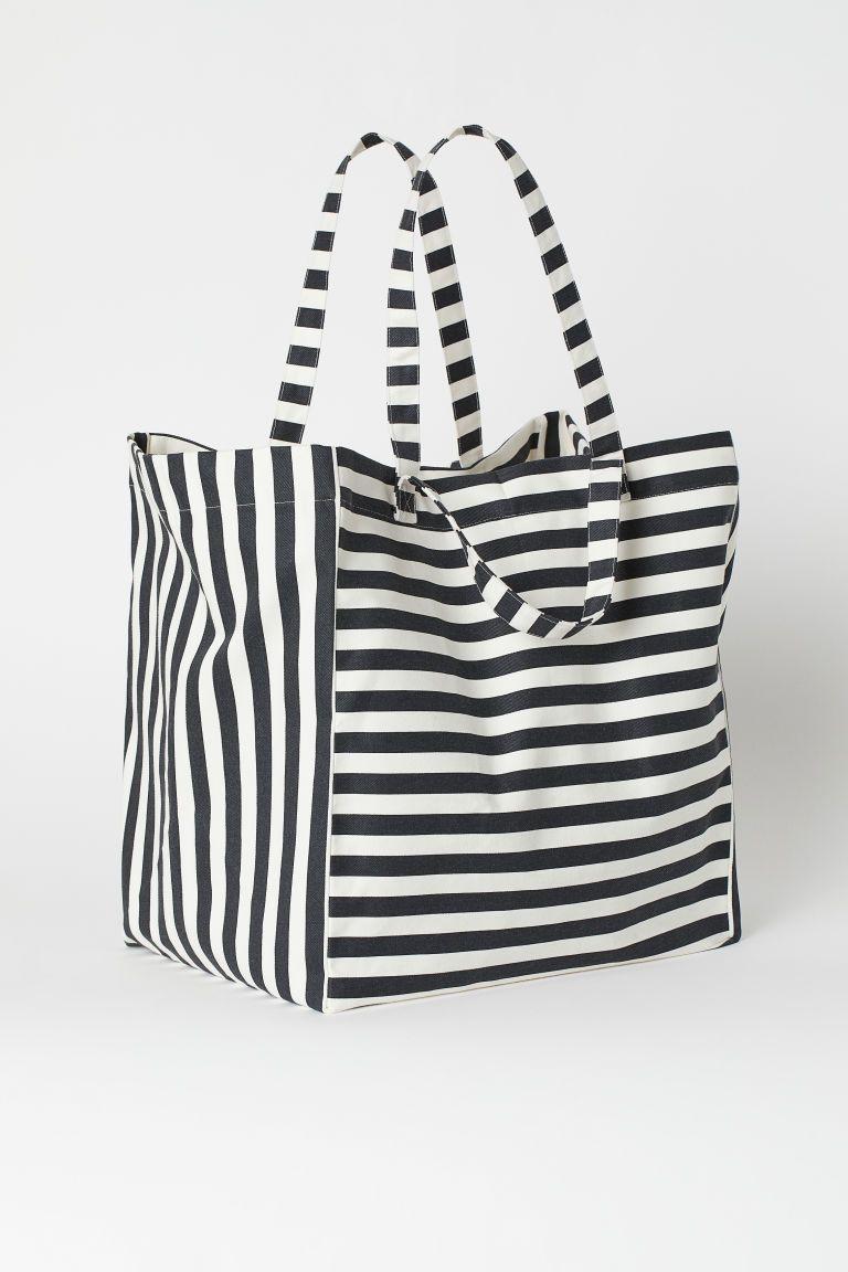 Travel Beach Bag Canvas Beach Bag Beach Bag-Twine Beach Bags Large- Top Zipper Closure