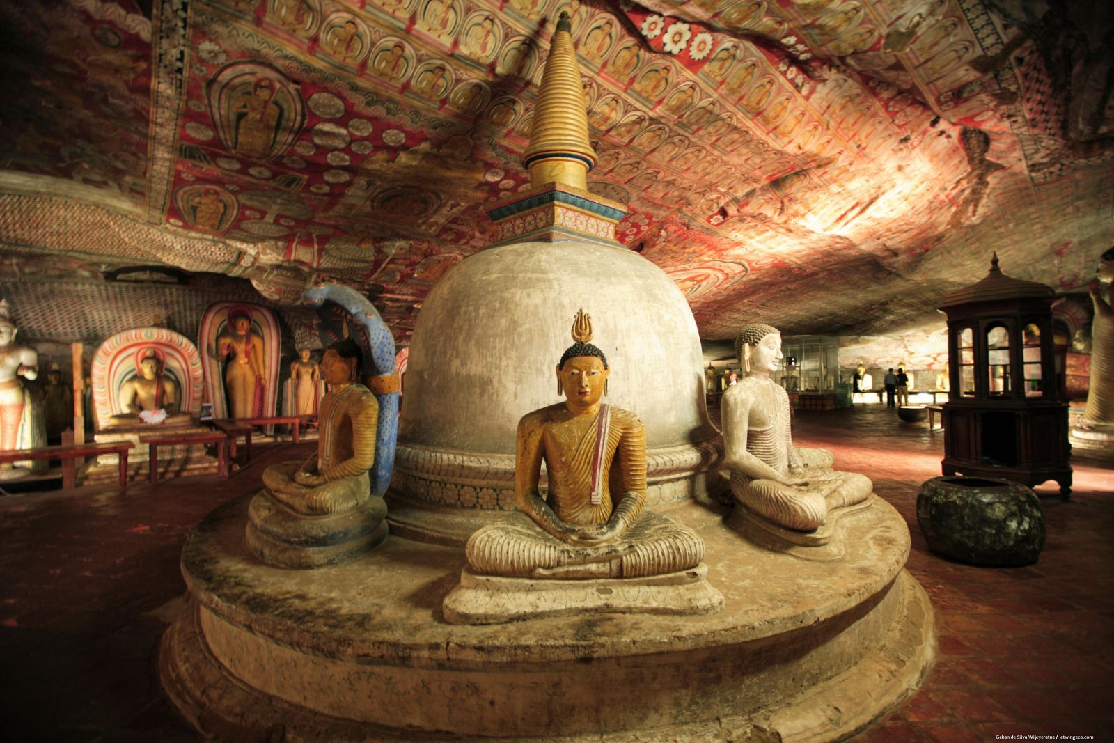 dambulla cave temple | Dambulla Cave Temple, Sri Lanka