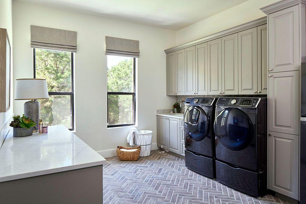 North San Antonio Whole House Remodel Laundry room