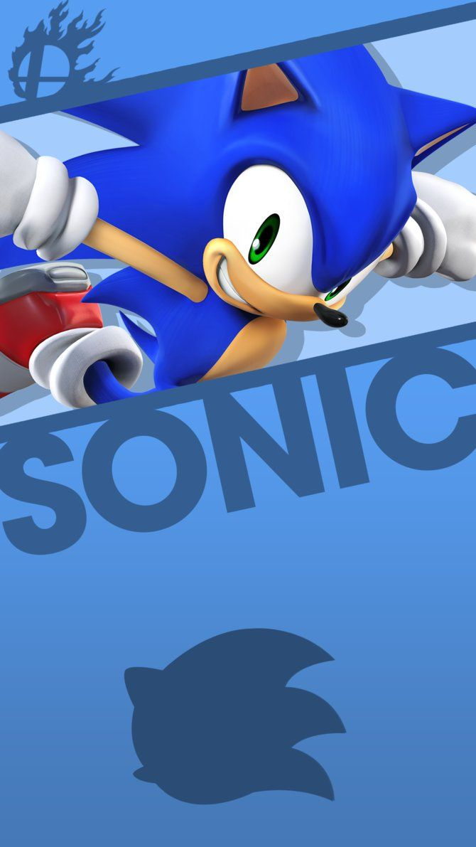 Sonic Smash Bros. Phone Wallpaper by MrThatKidAlex24
