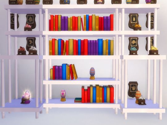 INDUSTRIAL Bookshelves At NEW Luxurious Sims 4 Via Updates Bookcase Industrial
