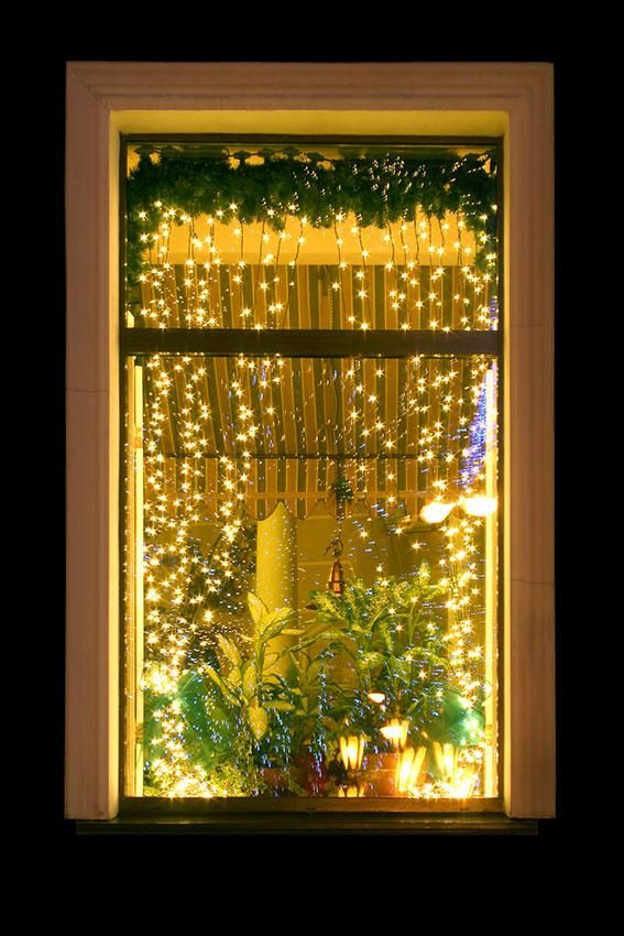 Christmas lights hanging in window - Christmas Window Decoration Ideas Christmas In My Home/Christmas
