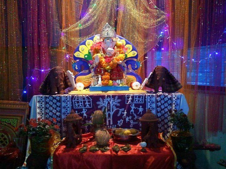 Ganesh chaturthi puja #chaturthi #puja #Ganesha