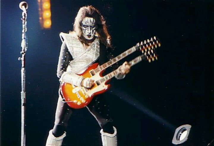 Ace on the reunion tour with his custom double neck. | Ace ... Ace Frehley Wiring Diagram on
