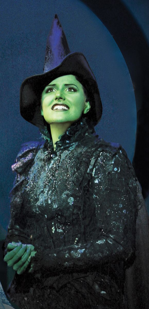 Are you an Elphaba from Wicked? (photo by Joan Marcus)