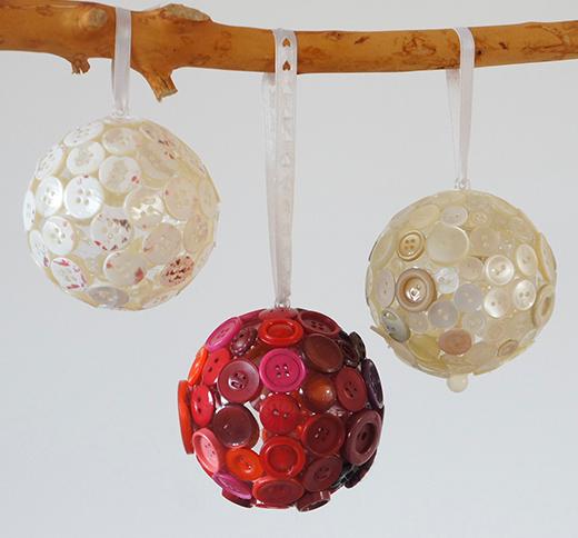 Great Knopfkugeln Für Weihnachten, Weihnachtsdekoration, Christbaumschmuck,  Hängende Deko, Knopf, DIY, Idee