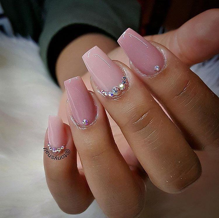 Love this length! Nail art design ideas | short nails ...