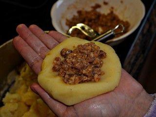 rezept papas rellenas gef llte kubanische kartoffeln rezepte hmmmm lecker in 2019. Black Bedroom Furniture Sets. Home Design Ideas