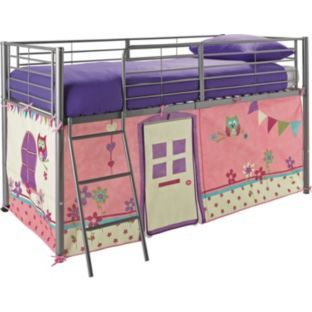 Buy Owl Tent Pack For Mid Sleeper Bed At Argos Co Uk