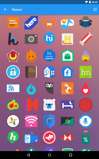 Rewun Icon Pack v4.9.0 FULL APK Free (UPDATED) APKBOO