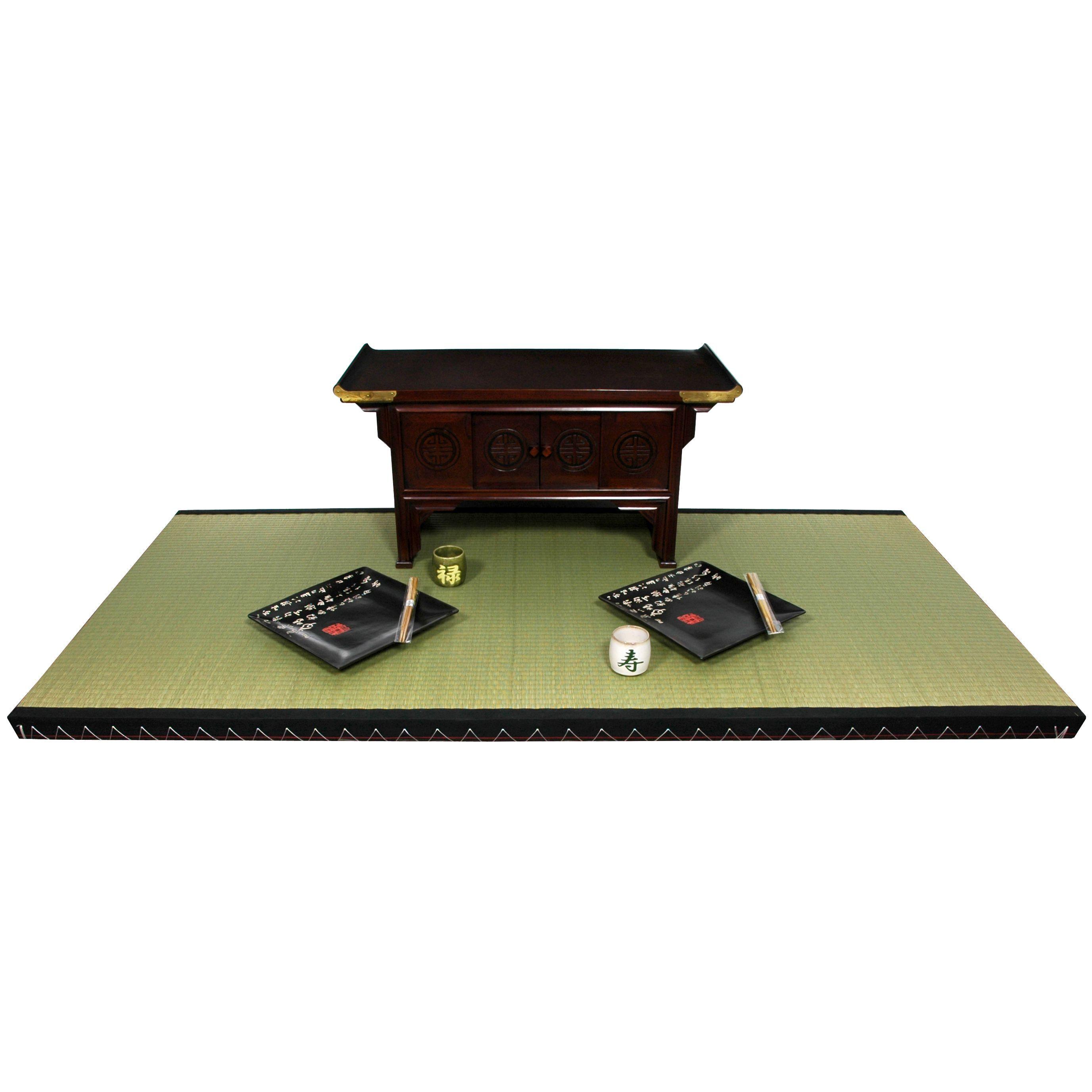 6' x 3' Full Size Tatami Mat from Oriental Furniture