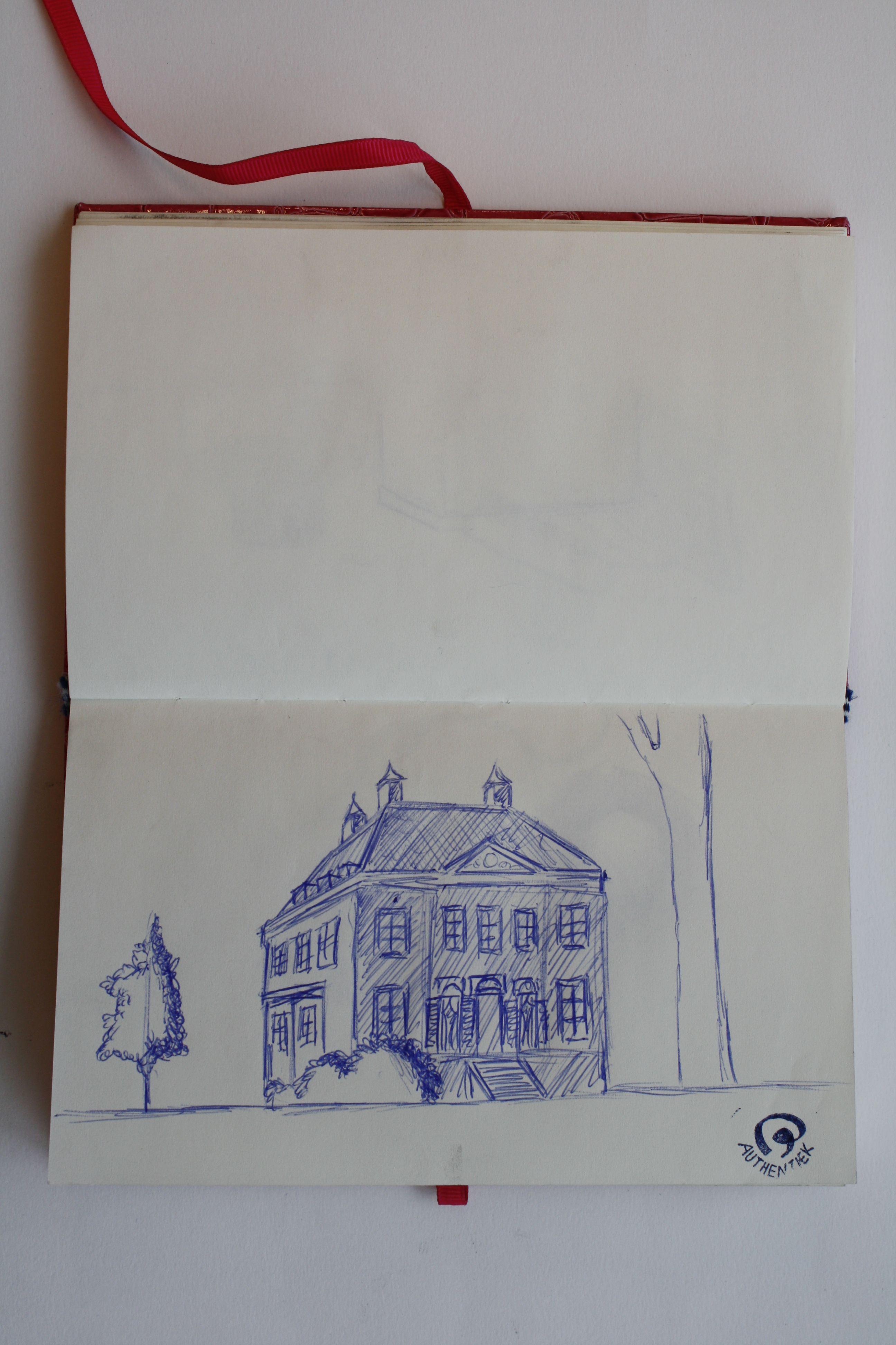 's Gravaland, NL. De buitenplaats is gebouwd in de periode 1778-1786, door Gerrit Corver-Hooft.  Parkaanleg door Zocher jr. in het begin van de 19e eeuw.  Oscar van Leest