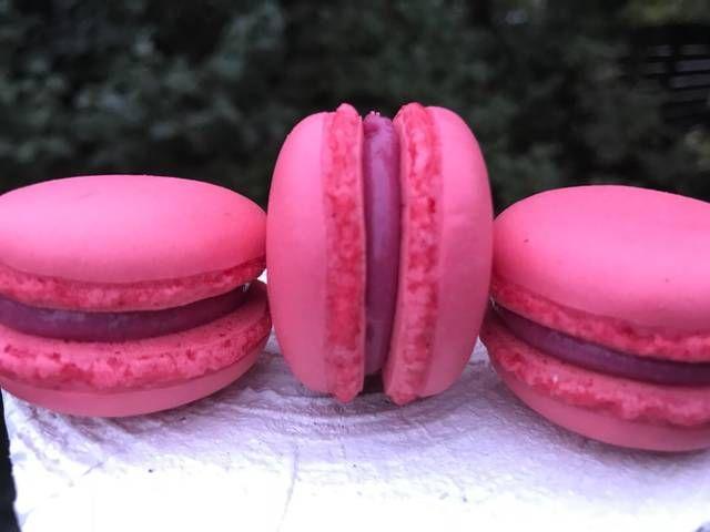 Hindbærganache til macarons eller fyldte chokolader - Rimmers Køkken Opskrift af Helle Rimmer