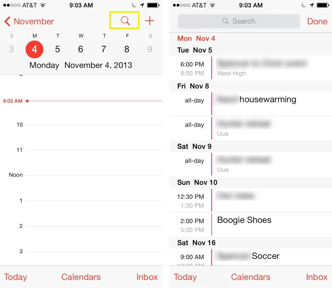 Get The List View Back In iOS 7's Calendar App [iOS Tips