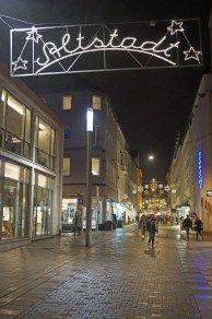 Weihnachtsbesuch in Bielefeld