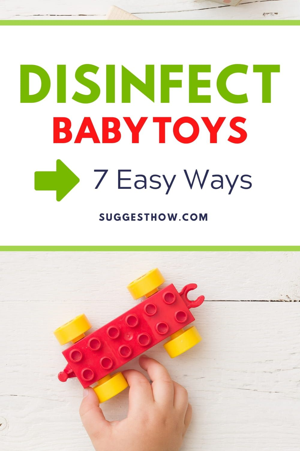 How to disinfect baby toys properly 7 methods to try in