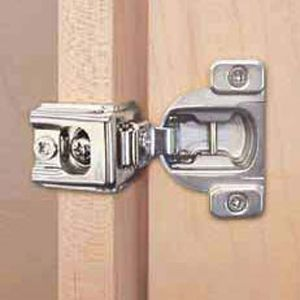 Blum Compact 39c Face Frame Hinge Plate 1 3 8 Inch Overlay With Dowel 39c358c 22 Hinges For Cabinets Face Frame Cabinets New Kitchen Cabinet Doors