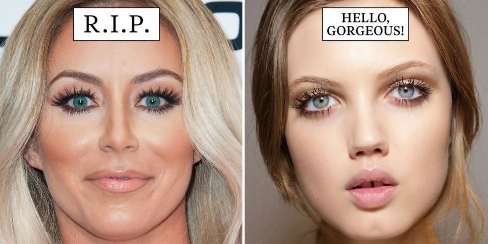 21 Beauty Trends That Need to Die in 2015 | Beauty trends, Make up ...
