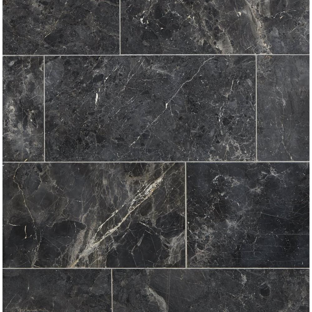 Silver Black Polished Marble Tile Polished Marble Tiles Black Marble Bathroom Black Marble Tile