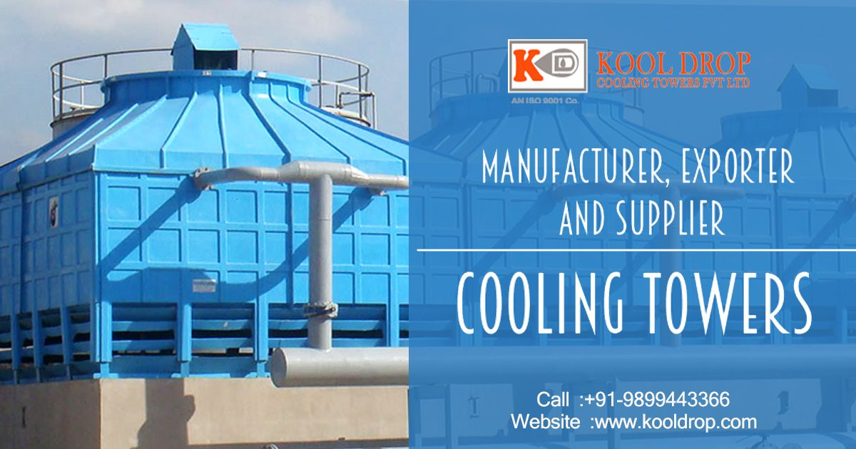 A Cooling Tower Is An Evaporative Type Heat Rejection Device Which