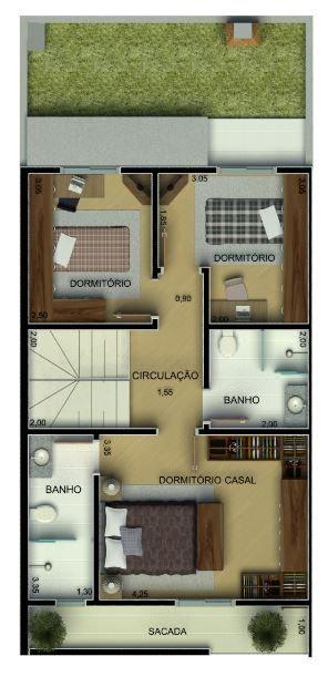 29+ Planos duplex 3 dormitorios ideas