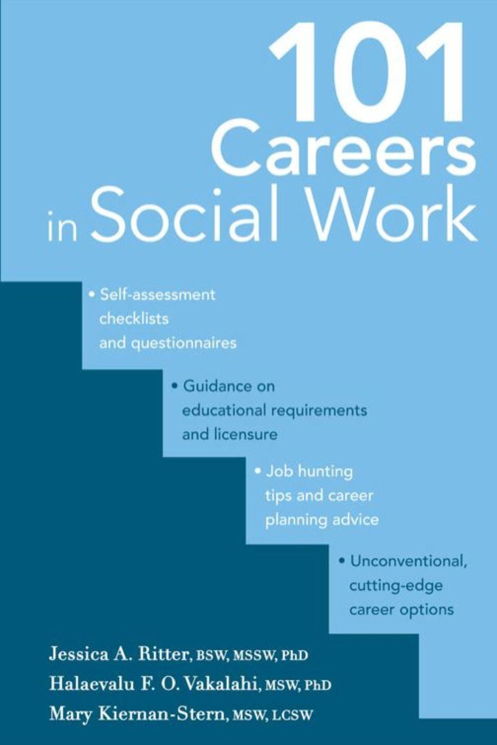 101 Careers in Social Work (eBook Rental) Social work