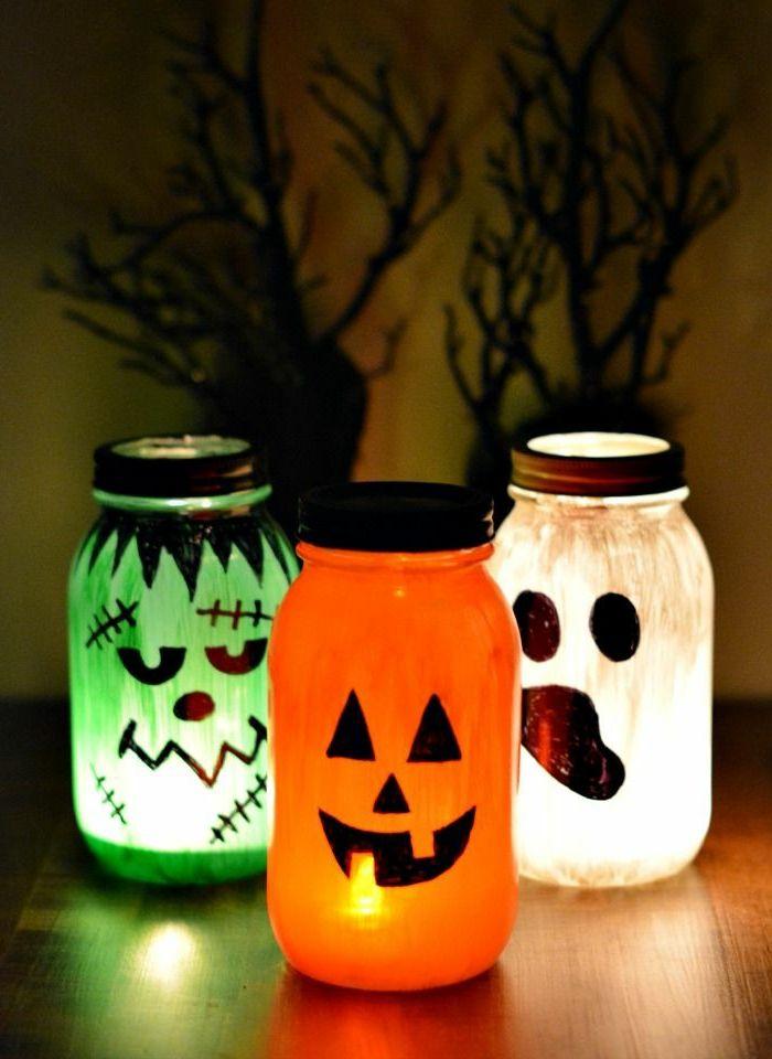 ▷ 1001 + Ideen zu Laterne basteln mit Anleitungen #halloweendekobasteln